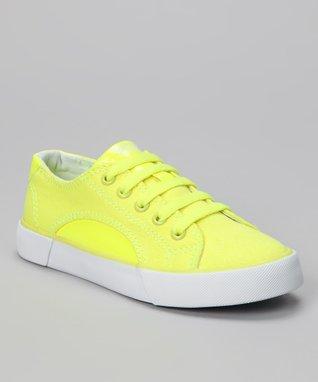 Gotta Flurt Neon Yellow Sunrise Sneaker
