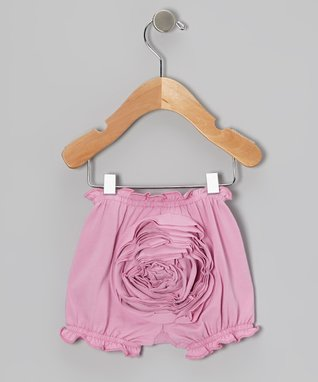 Party Pink Rosette Bloomers - Infant
