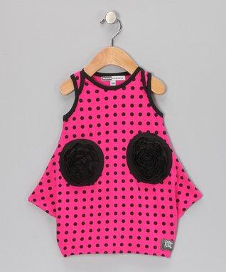 Raspberry Emily Dress - Toddler & Girls