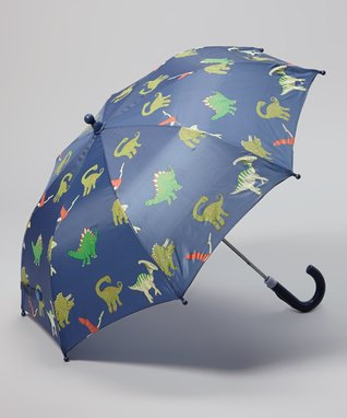 Foxfire Blue Dinosaur Umbrella