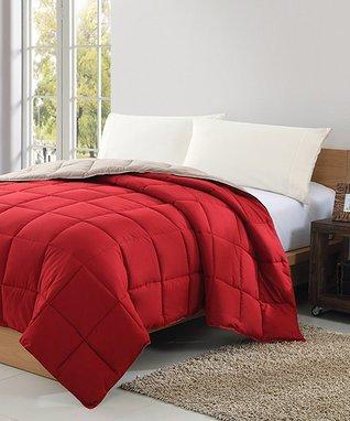 Blue & Brown Marisol Comforter Set