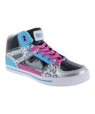 Gotta Flurt Black Poppin G Hi-Top Sneaker