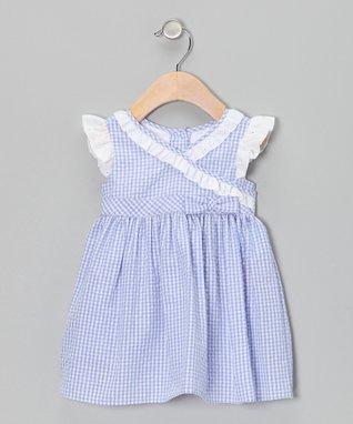 White Floral Tank Dress - Infant, Toddler & Girls
