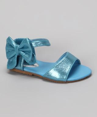 Coral Rhinestone Strap Sandal
