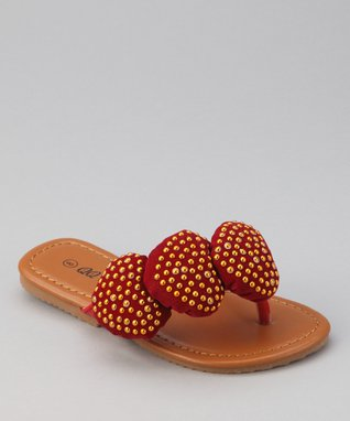 Red Heart Play Sandal
