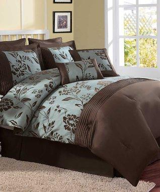 Gray Madeira Comforter Set