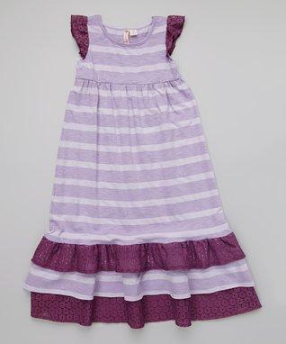 Blue & White Floral Dress - Infant & Girls