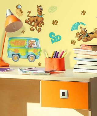Giant 'Scooby-Doo' Wall Decal Set