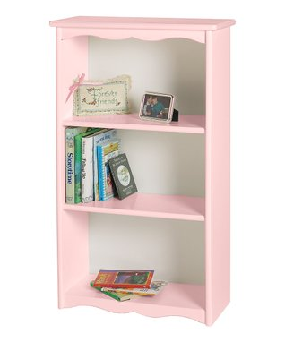 Soft Pink Bookcase