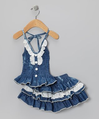 Denim & Floral: Kids' Apparel
