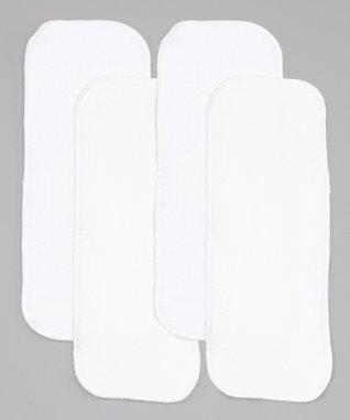 Little Monsters White Microfiber Insert - Set of Four