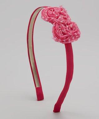Rainbow Flower Patch Stretch Bracelet