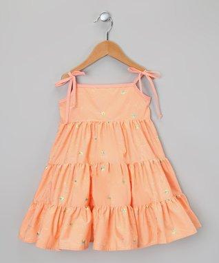 Light Pink Shimmer Floral Tutu Set - Infant, Toddler & Girls