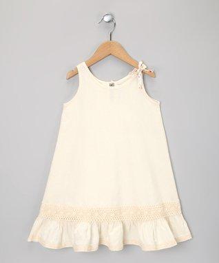 Orange Tier Dress - Infant, Toddler & Girls