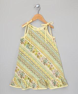Blue & Pink Plaid Ruffle Dress - Infant, Toddler & Girls