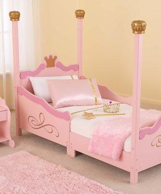 Pink Princess Toddler Bed