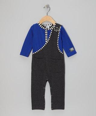Swim Blue Ruffle Leggings - Infant