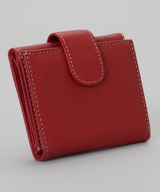 Mundi Red Trixie Trifold Wallet