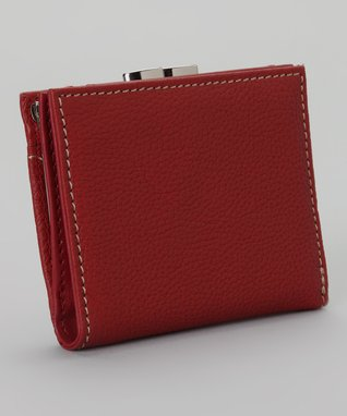 Mundi Red Left Bank Wallet