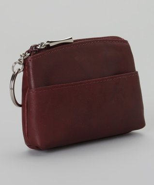 Mundi Burgundy Coin Purse