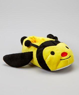 Chatties Yellow Bumblebee Plush Slipper