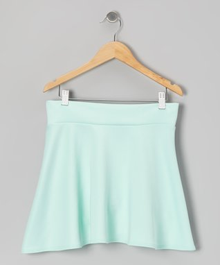 Mint Skater Skirt - Girls