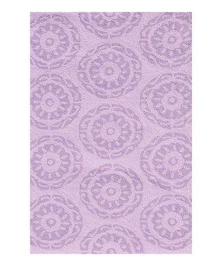 Lilac Twirl Rug