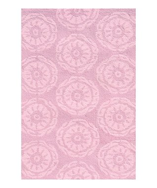 Pink Twirl Rug