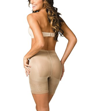 Nude Bottom-Lifter Vitamin E Shaper Shorts - Women & Plus