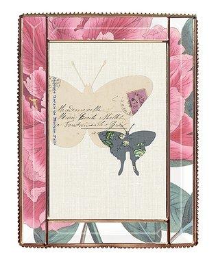 Pink Lillian Shower Curtain