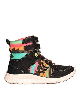TigerBear Republik Black Wonderwall Hi-Top Sneaker