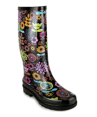 Style Storm: Printed Rain Boots