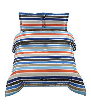Franklin Stripe Comforter Set