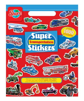 T.S. Shure Transportation Sticker Book