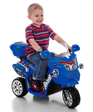 Lil' Rider Blue FX 3 Motorcycle Ride-On