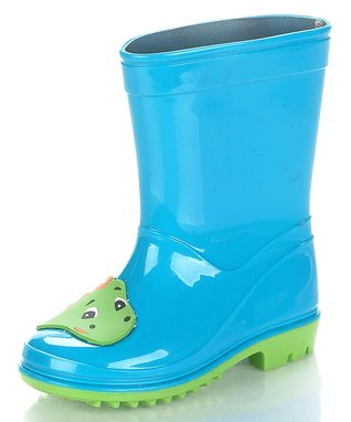 Jelly Beans Aqua Blue Dinoya Rain Boot