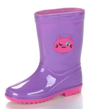 Jelly Beans Purple & Pink Kit Rain Boot