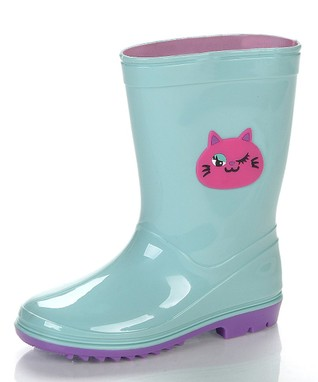 Jelly Beans Sea Green & Pink Kit Rain Boot