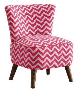 Surf Blue Gerber Armless Chair