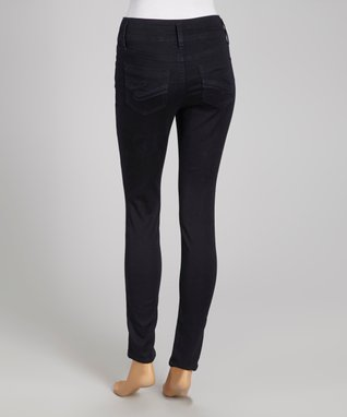 Wallflower Clothing Company Gray Glitter Skinny Jeans