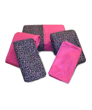 Hot Pink Leopard Rampage Sheet Pack - Set of Two