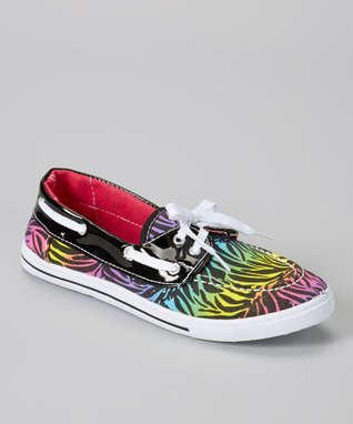 Blue Suede Shoes Black Glitter Boaty Boat Shoe