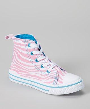 Blue Suede Shoes Fuchsia Glitter Boaty Boat Shoe