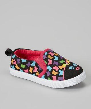 Chatties Fuchsia Stripe Sneaker
