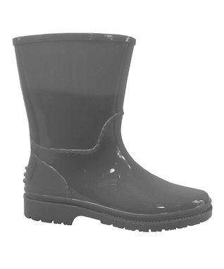 COCO Jumbo Gray Plaid Rain Boot
