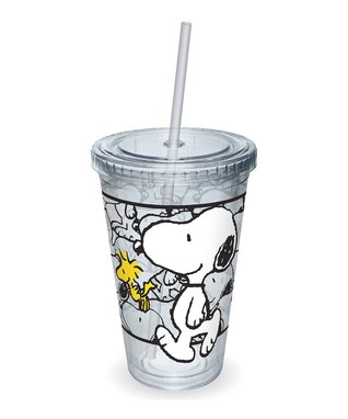 Black Snoopy 'Risks' Mug