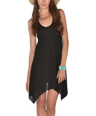 Black Sidetail Dress