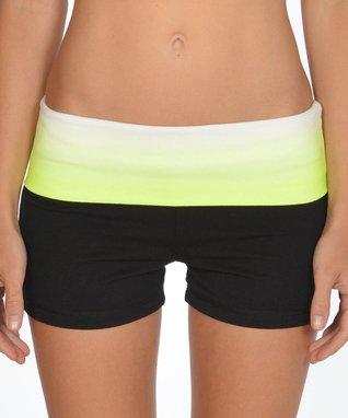 Neon Pink Drawstring Shorts