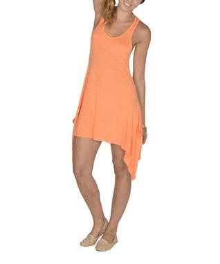 Neon Orange Drawstring Shorts