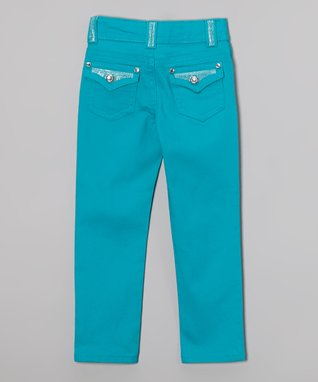 Cotton Candy Bling Skinny Jeans